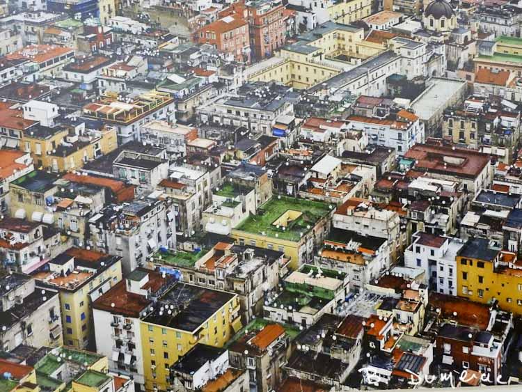 Naples vue du Castel Sant'Elmo
