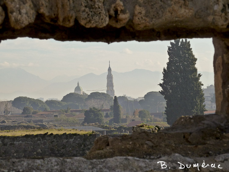 Vue de Pompéi