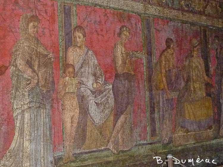 Pompéi Villa Mystères 1