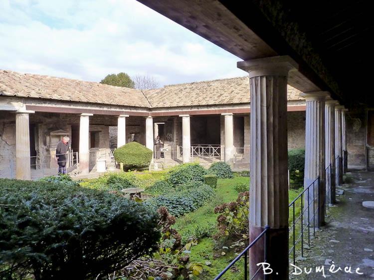 Pompéi Villa 1