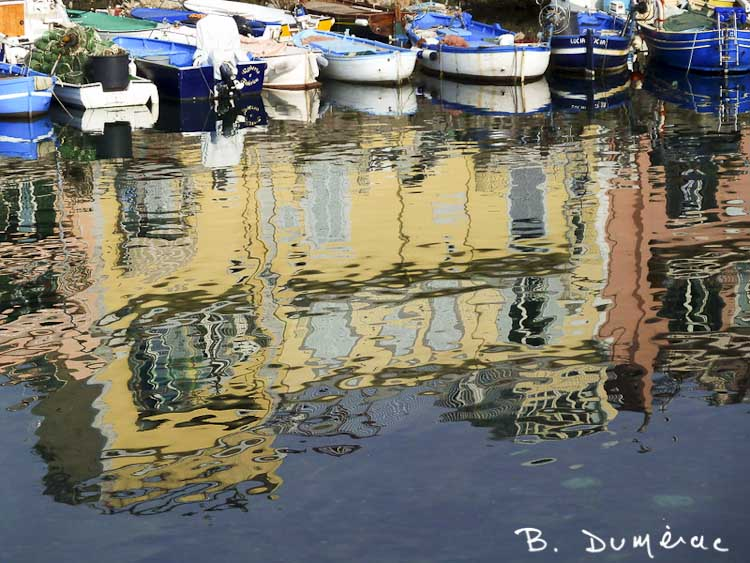 Port de Pouzzoles Reflets