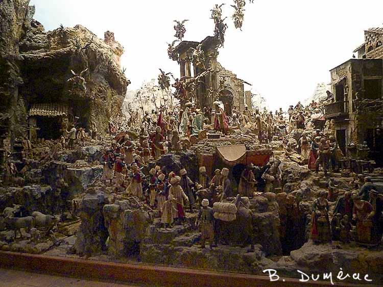 Crèche à Sant'Elmo