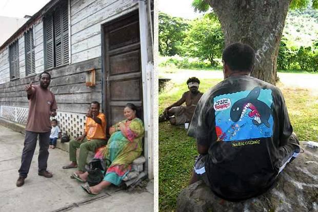 maison et gens à Nouméa