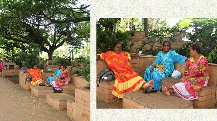 Nouméa place cocotiers 3