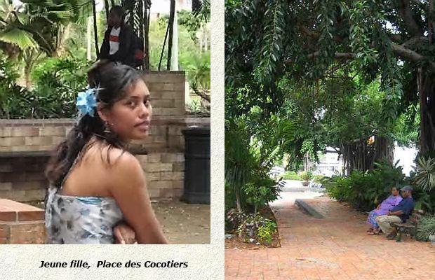 Nouméa place cocotiers 4