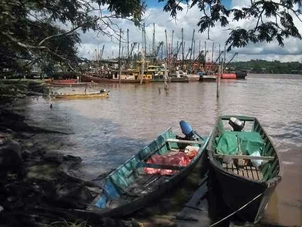 Port de pêche de Bintulu