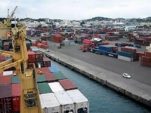 port de Nouméa