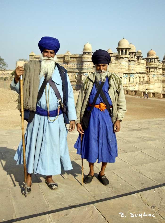 Promeneurs sikhs