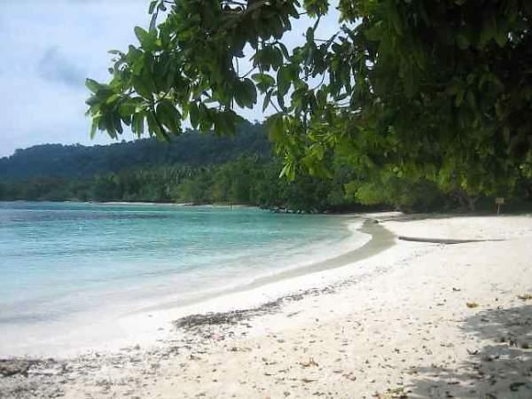 Petite plage à Espiritu Santo