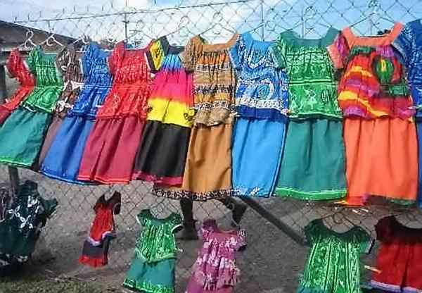 robes au vent