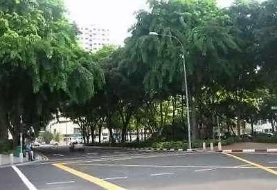 rue à Singapour