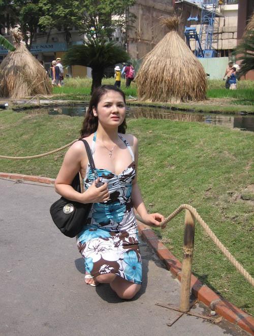 fille à Saigon