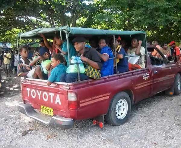 taxi à Rabaul