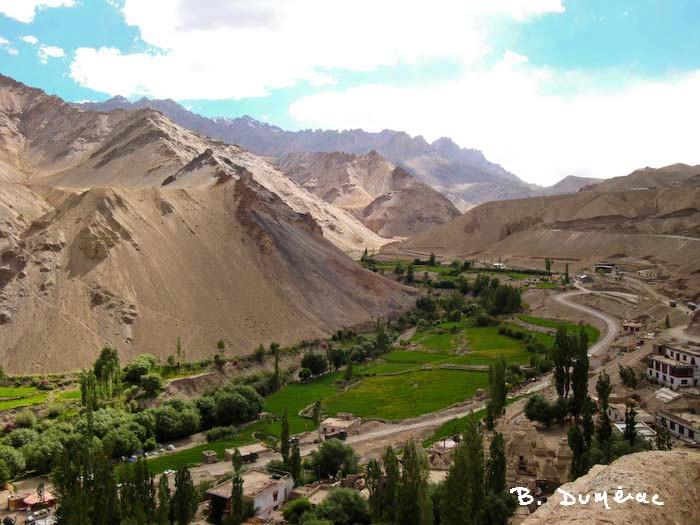 vallée à Leh