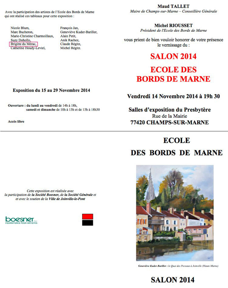expo bords de Marne 2014